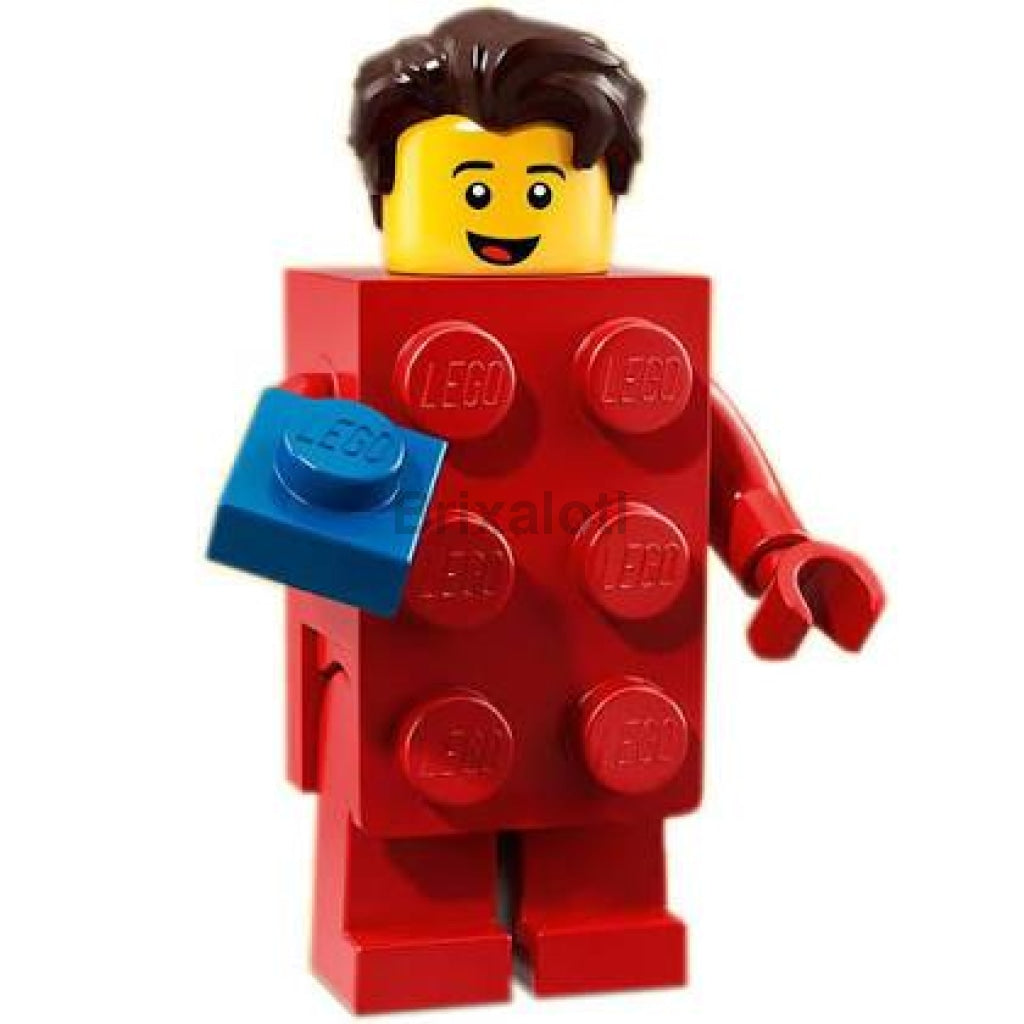 Brick Suit Guy Minifigure