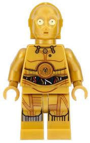 C-3Po - Colorful Wires Printed Legs Minifigure