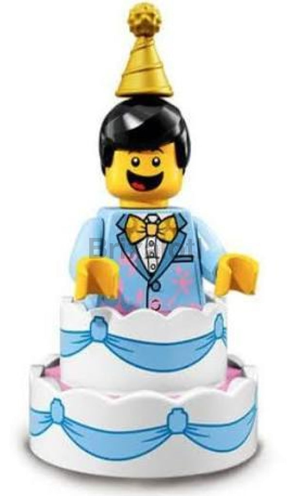 Cake Guy Minifigure