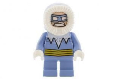 Captain Cold Minifigure