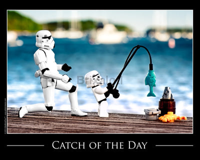 Catch Of The Day Toy Photography Art Print 8X10 Art