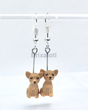 Chihuahua Dangler Earrings