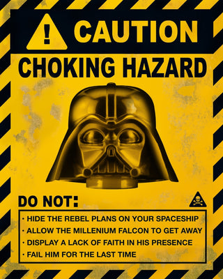 Choking Hazard Art Art