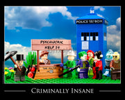 Criminally Insane Toy Photography Art Print 8X10 Art