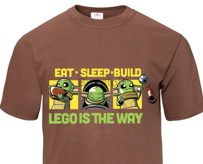 Eat Sleep Build T-Shirt -Adult Tshirt