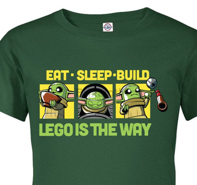 Eat Sleep Build T-Shirt - Youth Tshirt