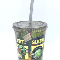 Eat Sleep Build Tumbler Filled With Lego Parts Tumbler
