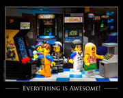 Everything Is Awesome! Toy Photography Art Print 8X10 Art