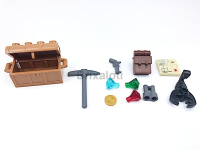 Explorer Pack Minifig Accessories