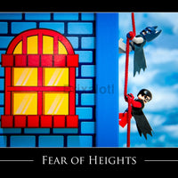Fear Of Heights Toy Photography Art Print 8X10 Art