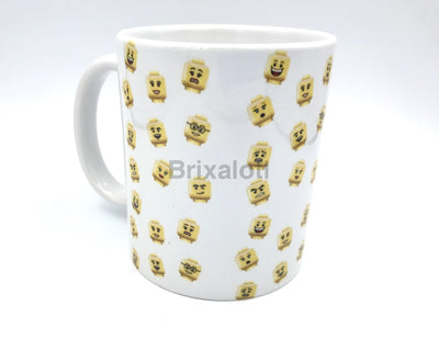 Fig Faces Lego Mug Mug