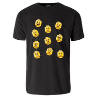 Fig Faces T-Shirt - Adult Tshirt