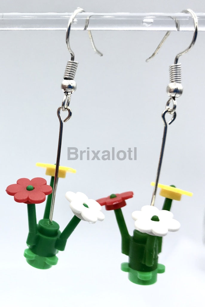 Flower Dangler Earrings