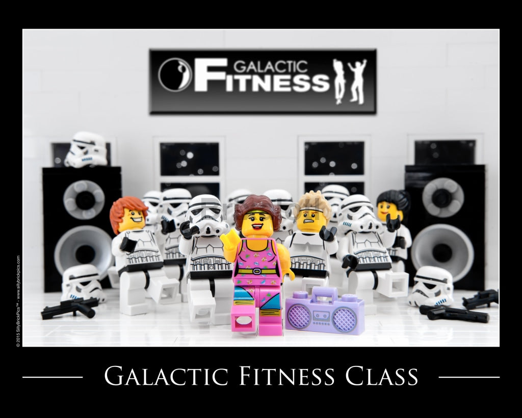 Galactic Fitness Toy Photography Art Print 8X10 Art