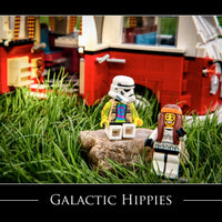 Galactic Hippies Toy Photography Art Print 8X10 Art