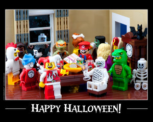 Happy Halloween Toy Photography Art Print 8X10 Art