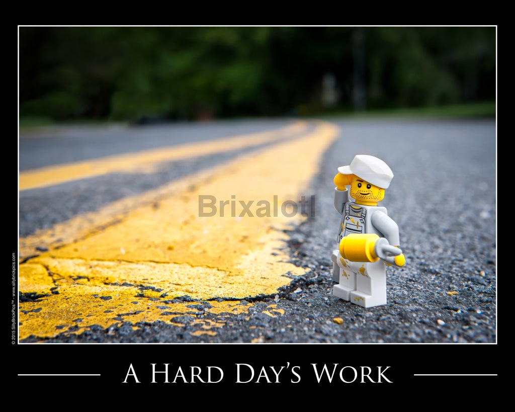 Hard Days Work Toy Photography Art Print 8X10 Art