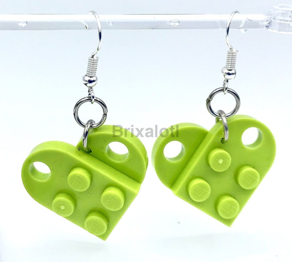 Heart Dangler Earrings