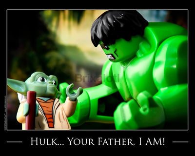 Hulks Father Toy Photography Art Print 8X10 Art