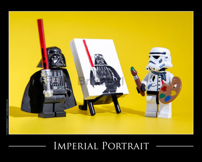 Imperial Portrait Toy Photography Art Print 8X10 Art