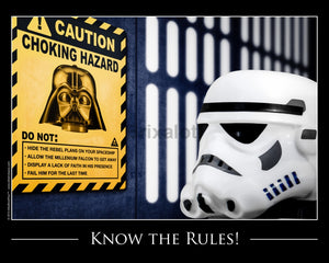 Know The Rules Toy Photography Art Print 8X10 Art