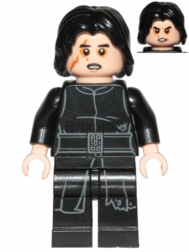 Kylo Ren (Tattered Robe Scar) Minifigure