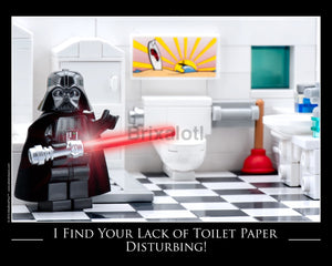 Lack Of Toilet Paper Toy Photography Art Print 8X10 Art