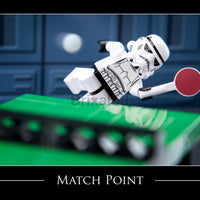 Match Point Toy Photography Art Print 8X10 Art