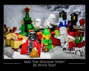 May The Holiday Spirit Be With You Toy Photography Art Print 8X10 Art