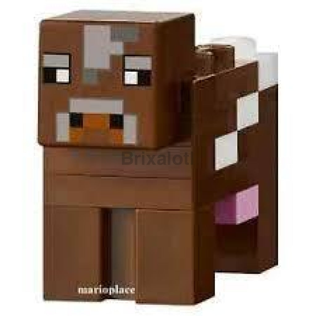 Minecraft Cow Minifigure
