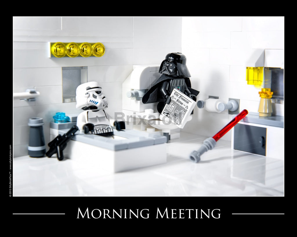 Morning Meeting Toy Photography Art Print 8X10 Art
