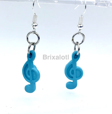 Musical Note Dangler Earrings