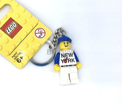 New York Minifigure Keychain Keychain