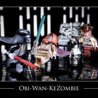 Obi-Wan Kezombie Toy Photography Art Print 8X10 Art