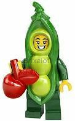 Peapod Costume Girl Minifigure