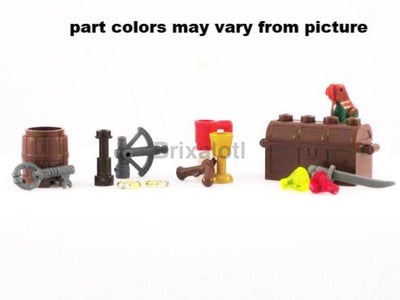 Pirate Pack Minifig Accessories