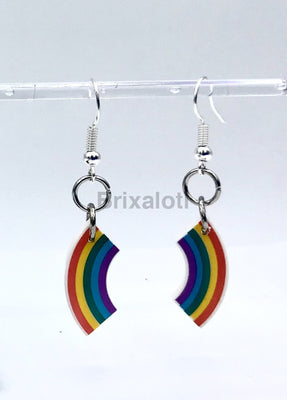 Rainbow Dangler Earrings