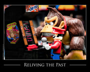 Reliving The Past Toy Photography Art Print 8X10 Art
