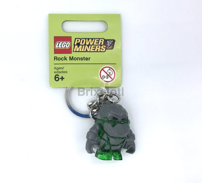 Rock Monster - Green Keychain Keychain