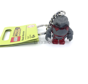 Rock Monster - Red Keychain Keychain