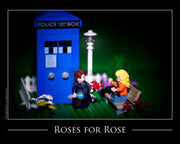Roses For Rose Toy Photography Art Print 8X10 Art