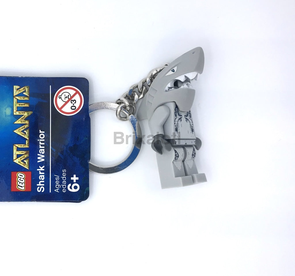 Shark Warrior Keychain Keychain