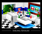 Sibling Rivalry Toy Photography Art Print 8X10 Art