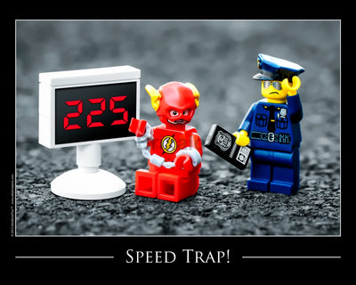 Speed Trap Toy Photography Art Print 8X10 Art