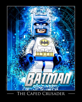 Superhero Posters Toy Photography Art Print 8X10 Batman Art