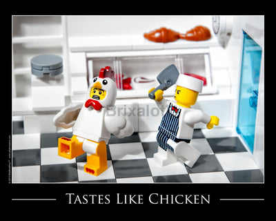 Taste Like Chicken Toy Photography Art Print 8X10 Art
