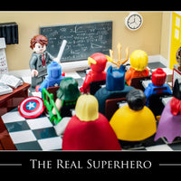 The Real Hero Toy Photography Art Print 8X10 Teacher Art