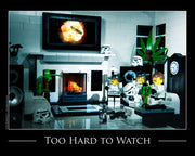 Too Hard To Watch Toy Photography Art Print 8X10 Art