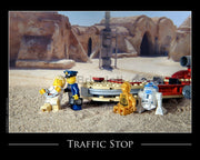 Traffic Stop Escape Toy Photography Art Print 8X10 Art