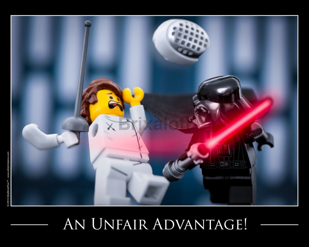 Unfair Advantage Toy Photography Art Print 8X10 Art